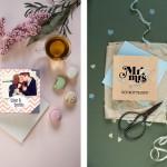 Für Retrofans und Fotofreunde ~ Hochzeitskarten von CardDreams.de