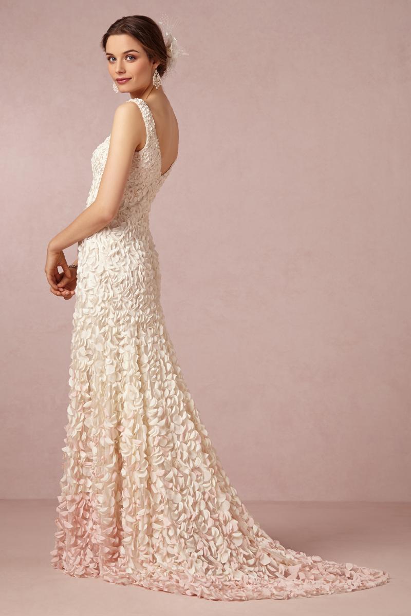 Perlen Spitze Ombre Romantische Brautkleider Von Bhldn