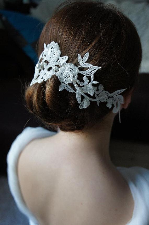 Braut haarschmuck spitze  Unser Shop-Tipp ~ Blingalong ~ Edler Haarschmuck aus Venedig ...