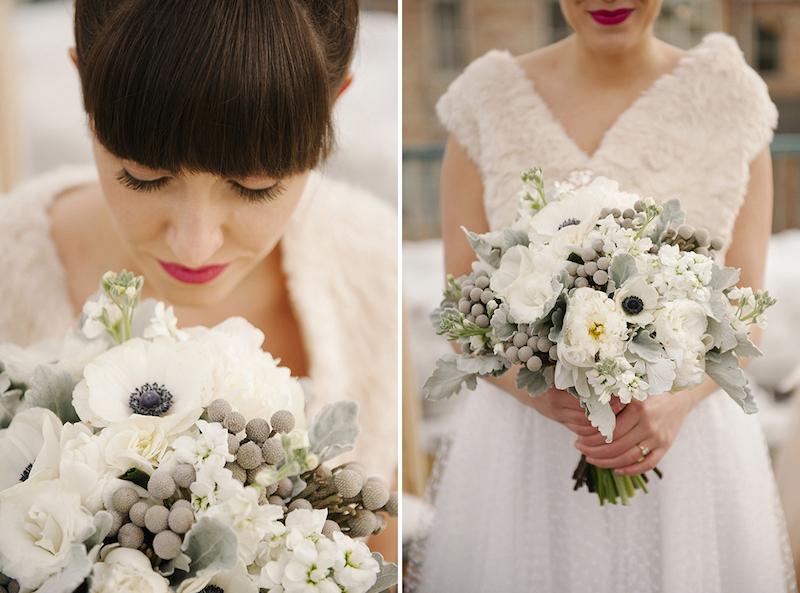 Hochzeit im Winter! Modern Rooftop Wedding Inspiration ~ Brooke ...
