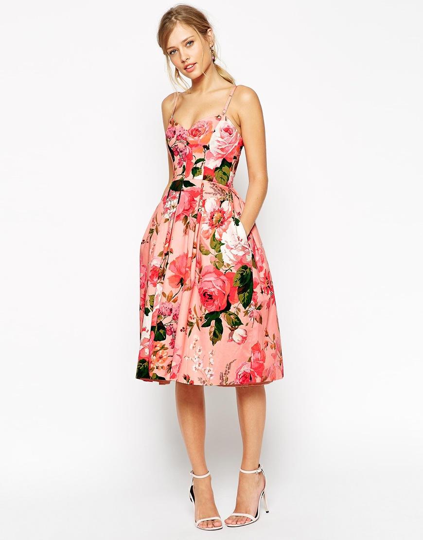 Kleid standesamt blumen