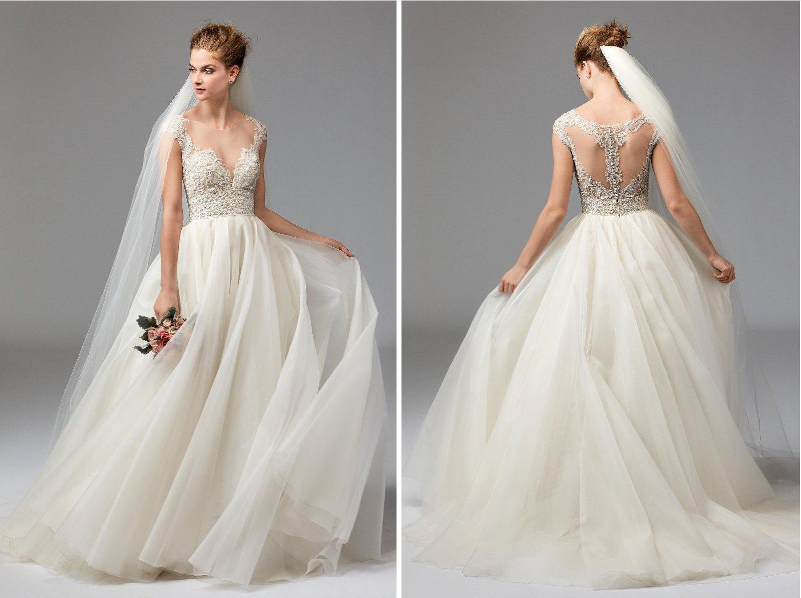 Hochzeitskleid leicht