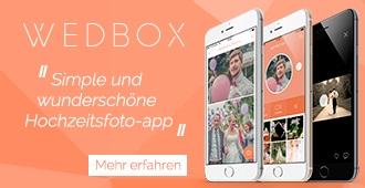 Wedbox - Die Hochzeits-Fotoapp
