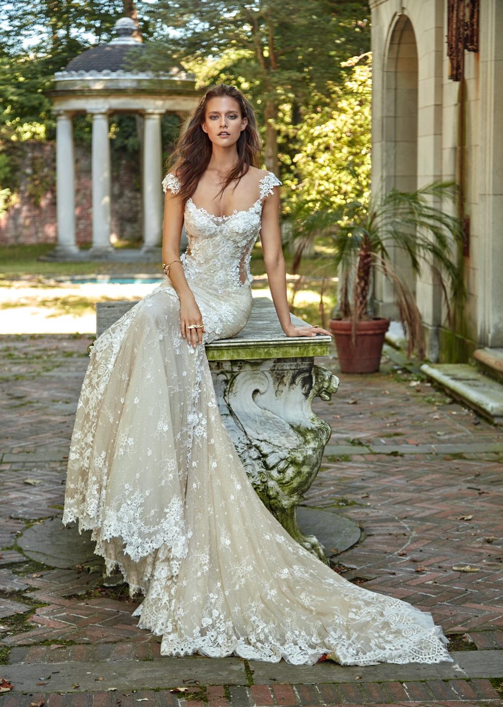 Romantisches Brautkleid von Galia Lahav