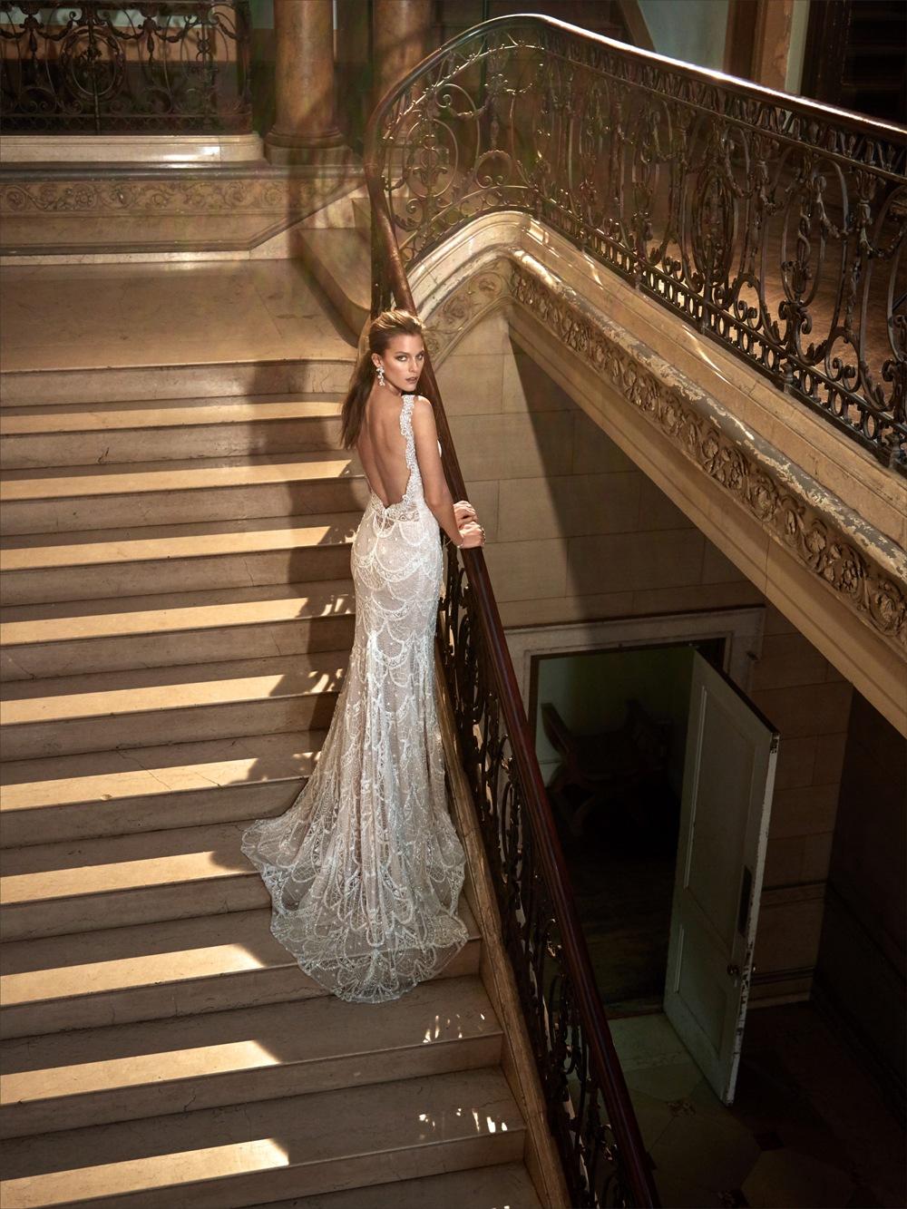 Spitzenbesetztes Brautkleid von Galia Lahav