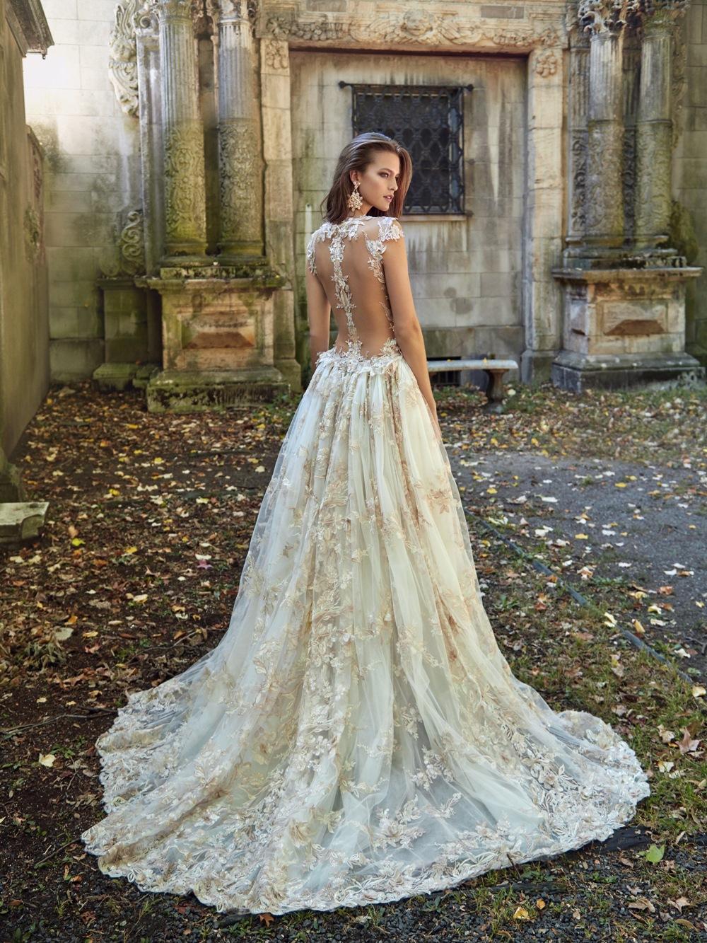 Weites Brautkleid von Galia Lahav