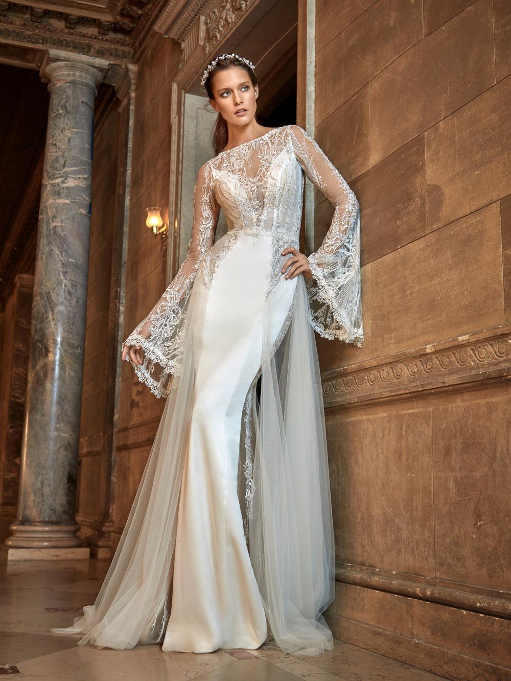 Enganliegendes Brautkleid von Galia Lahav