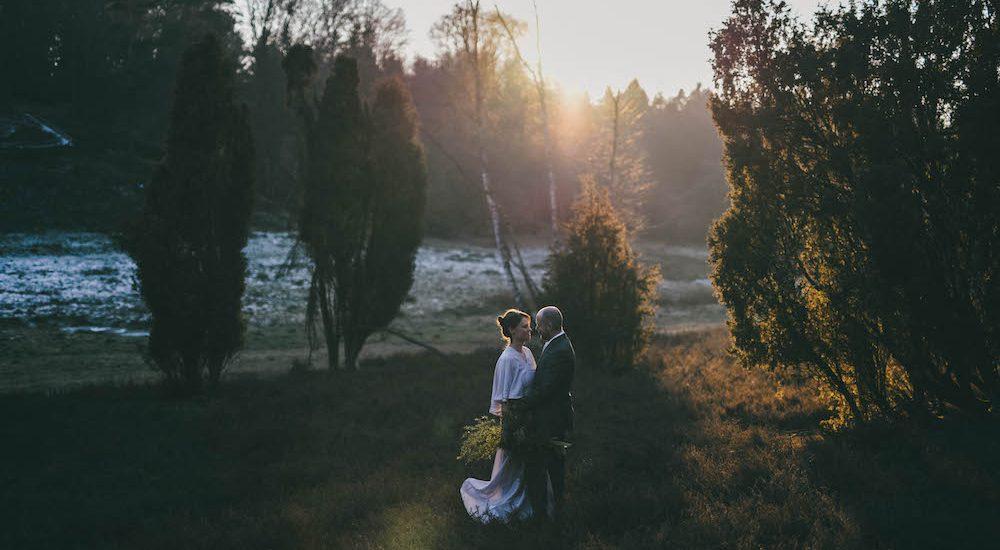 Hochzeitsfotos in der Lüneburger Heide