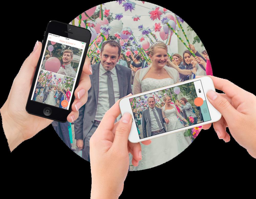 Wedbox Foto-App Premium-Paket mit Hochzeitsblog Brautsalat