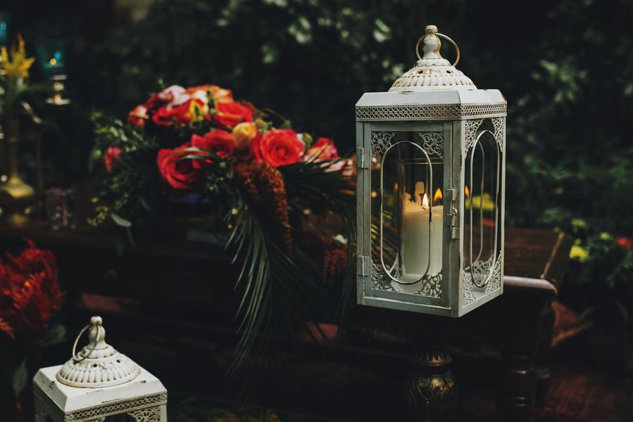Dekoration für die Hochzeit im Orient-Trend auf Brautsalat