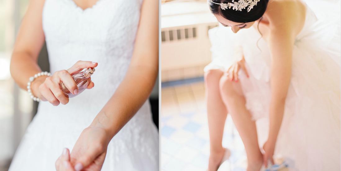 Parfum für die Hochzeit