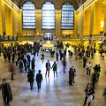 Verlobungsfotos am Grand Central Station